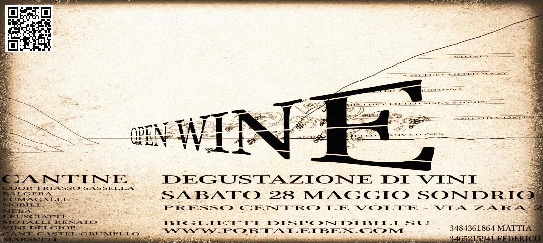 Open Wine – I vini della Valtellina