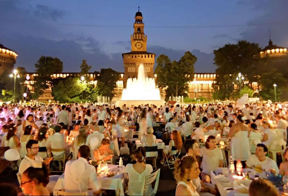 Cena in Bianco – Milano