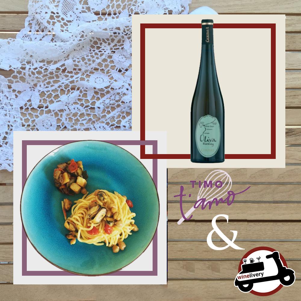 #ilpastodivino – winelivery e Timo T'amo si incontrano e fanno magie!