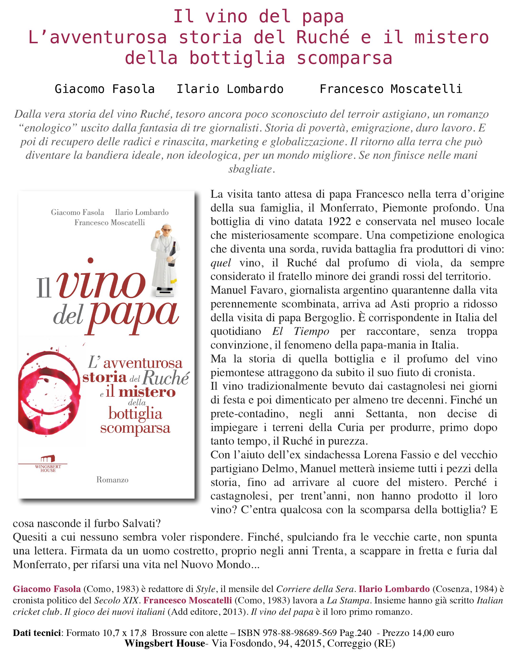 Microsoft Word - Scheda stampa Ruché word.doc