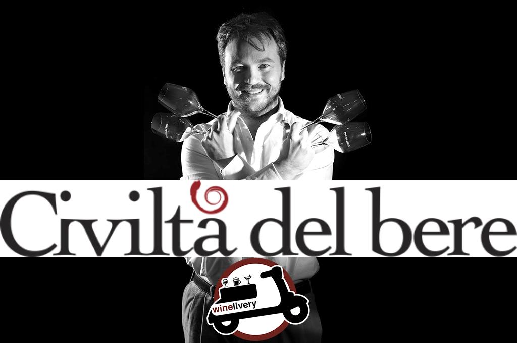 Civiltà del Bere e winelivery – uniti dalla passione per il vino.