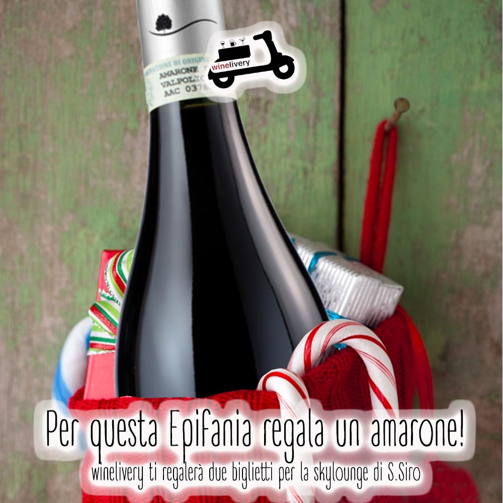 Per la Befana winelivery vi porta nella Skylounge di San Siro!