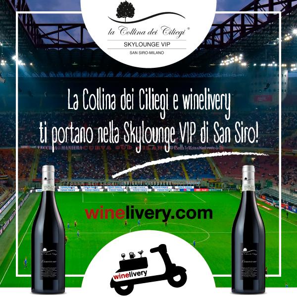 San Siro a soli 30 minuti da te! Collina dei Ciliegi e Winelivery vi regalano Milan – Udinese in SkyLounge VIP!