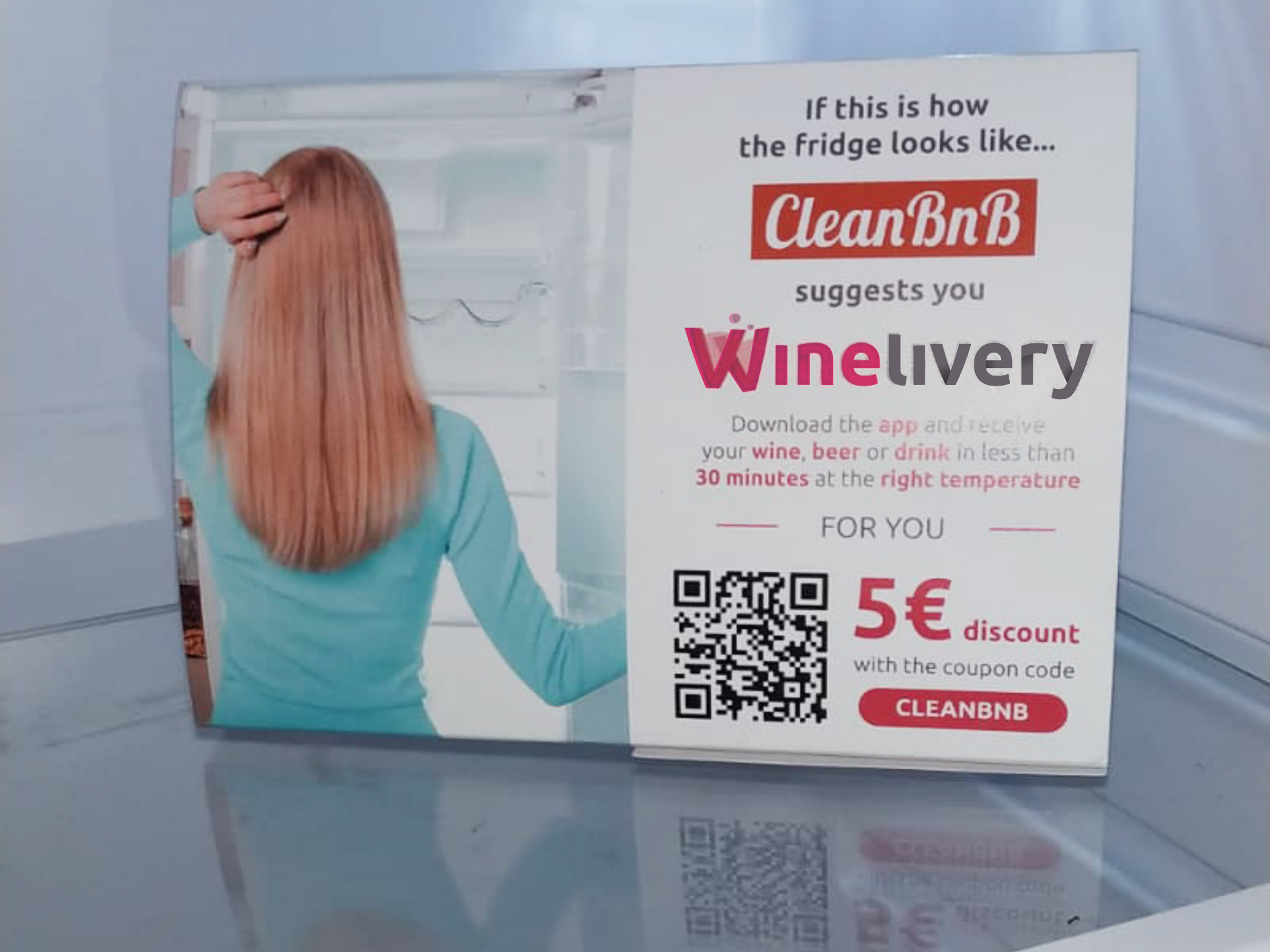 Dalla collaborazione tra Winelivery e CleanBnB nasce il concetto di Minibar 4.0 per tutti gli affitti di breve durata!